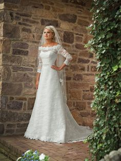 my wedding dress must have sleeves!   by The Pink Zebra Spartanburg.  Check us out on Facebook: https://www.facebook.com/pinkzebraspartanburg?ref=tn_tnmn