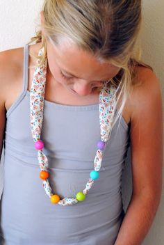 hart + sew | Vintage Baby Clothing: a simple necklace
