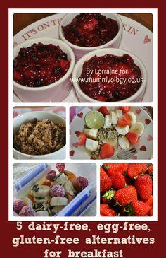 Mummyology:: 5 dairy-free, gluten-free, egg-free alternatives for breakfast
