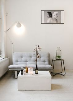 Lovely living room & great small space inspiration