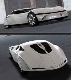 Tatra 903 Concept by Mike Jelinek