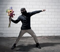 You are not Banksy Flower