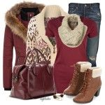 Winter Outfits   Style This Sweater and Boots