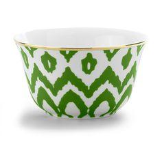Ikat cereal bowl