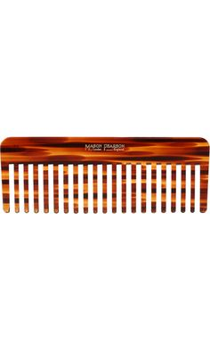 Mason Pearson Rake Comb - a wide tooth comb removes tangles from wet hair (even my pup Zeus' in a pinch!)