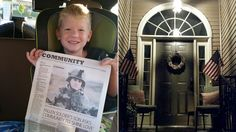 1 million 'shine a light to the moon' to honor boy's fallen vet dad