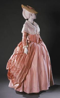 Philadelphia Museum of Art - Collections Object : Woman's Dress (Robe à la française) with Attached Stomacher