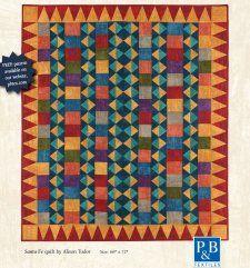 Free Pattern - Santa Fe Quilt by Alison Tudor
