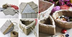 How to Make Easy Weave Basket - DIY & Crafts - Handimania