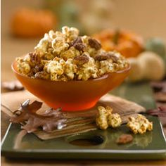 Maple Pumpkin Spice Popcorn | Farm Flavor