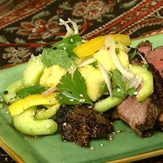 Spicy cucumber and pineapple salad