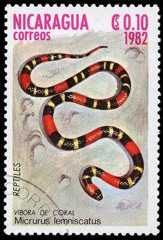 Stamp, Nicaragua