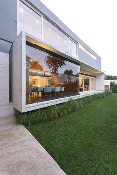ae hous, mexico city, dinner tabl, modern architecture, glass walls
