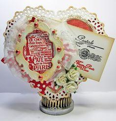 Vintage Valentine - Scrapbook.com