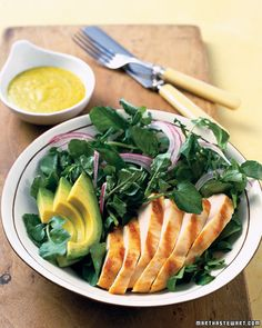72 salad ideas. Healthy, very healthy salads. There are some dressing ideas too! :D