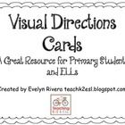 This is a visual resource you can use with young students and second language learners when you are modeling activities or giving directions. Print...