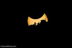 Partial Solar Eclipse from Summit County, Colorado