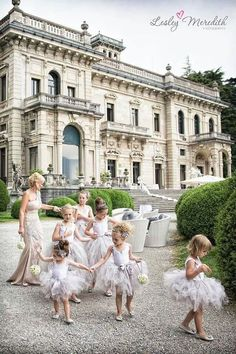 precious flower girls in tutus ... via all the beauty things...