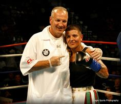 with my trainer, Peter Manfredo, Sr. The best in the game. Love this man!!