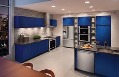 Are you a fan of this sleek and modern kitchen featuring Electrolux appliances? Learn more! http://www.electroluxappliances.com/  #ElectroluxEntertaining