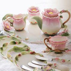 Tea Cups - Beautiful set.