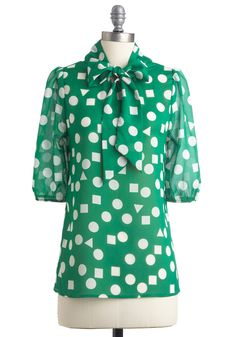 blouse from modcloth