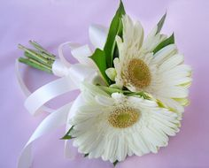 Daisies for the bouquet.
