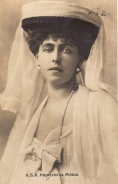 Queen Marie of Romania in yet another of her headdresses.