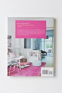 My husband Thorsten Becker took some of the photos in my new book, this one made it on the back cover of the US edition!!!! Decorate Workshop: Design and Style Your Space in 8 Creative Steps | Anthropologie.eu