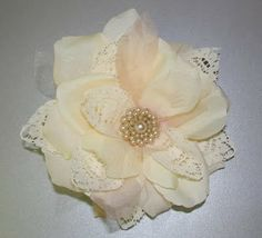 Little Lovables: Vintage Flower Blossom Tutorial