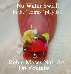 How to do No Water Marbling Nail Art