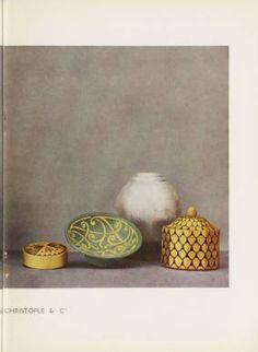 Dinanderies de Christofle & Cie, 1930. Trade Catalogs. The Metropolitan Museum of Art, New York. Thomas J. Watson Library (b18209397) #ceramics