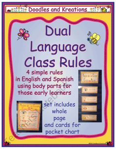 Dual Language Daily Schedule – imvcorp