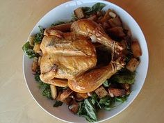 Roast Chicken with Gluten Free Bread Salad | Udi's® Gluten Free