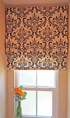 Classic Roman shades in fabric of your choice!