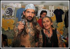 Filip & Loretta Leu ~ London tattoo convention by paulsgarden ☺, via Flickr