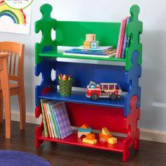 Puzzle Bookcase
