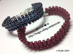 Macramé links bracelets
