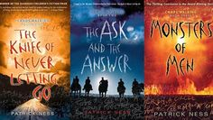 Chaos Walking series ❤  Apparently, if you liked The Hunger Games, this series should be next on your reading list.