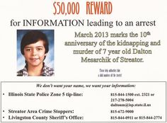 Ten years ago Tuesday night, 7-year-old Dalton Mesarchik stood safely inside his home, near his family.