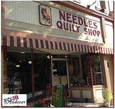 Today's Your Andover winner, Kathy Plumley, purchased fabric to make her wonderful hat from Needles Quilt Shop in Wellboro, PA. Be sure to stop by their store to see their great Andover Fabrics selection!