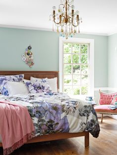 We have fallen in love with this Amish-made cherry bed