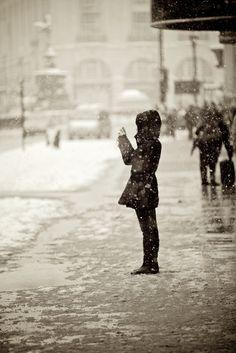 England | London snow