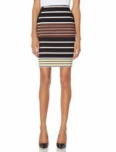 pencil skirts, stripe pencil