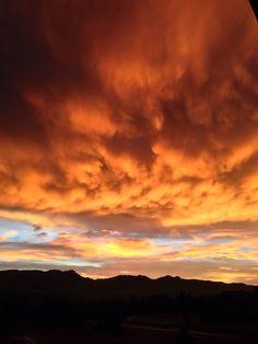 Colorado Springs Sunset!