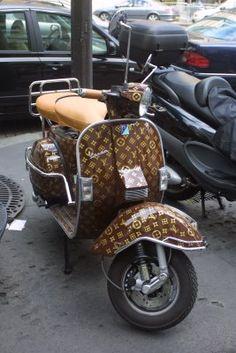 Louis Vuitton Vespa Scooter