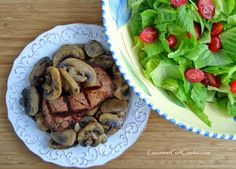 Gourmet Girl Cooks: Grilled Steak & Salad - Simple, Quick and Low Carb
