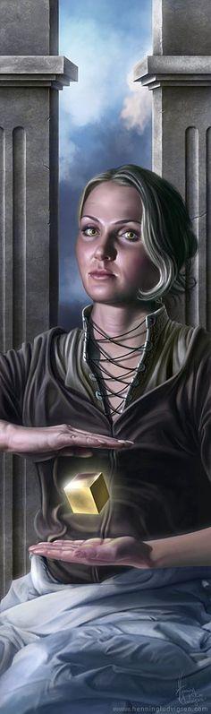 Order by Henning Ludvigsen...##fantasy #magic #art