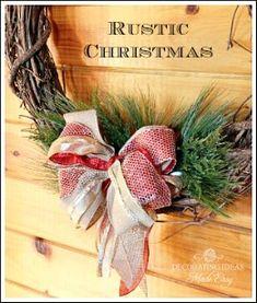 christma rustic, christmas decorations, christma decor, christmas decorating ideas, rustic christmas