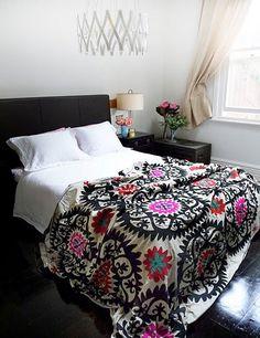 Suzani bedspread - Suzani - interior design